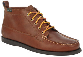 Eastland Men's Tan Seneca Camp Moc Chukka Boot , Tan, hi-res