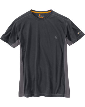 Carhartt Men's Force Extremes Short Sleeve Tee , Charcoal, hi-res