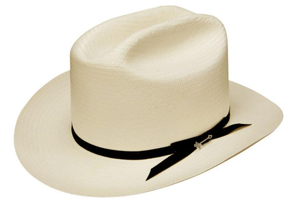 67c53666d5e7f Stetson Men s White Shantung Open Road Hat
