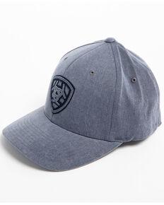 c6ed305a74882 Ariat Mens Grey Distressed Signature Logo Cap