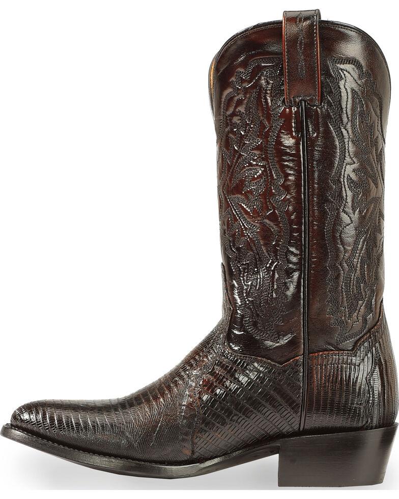 Dan Post Men's Raleigh Lizard Western Boots - Medium Toe, Black Cherry, hi-res