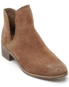 Matisse Women's Pronto Suede Fashion Booties - Round Toe, Brown, hi-res