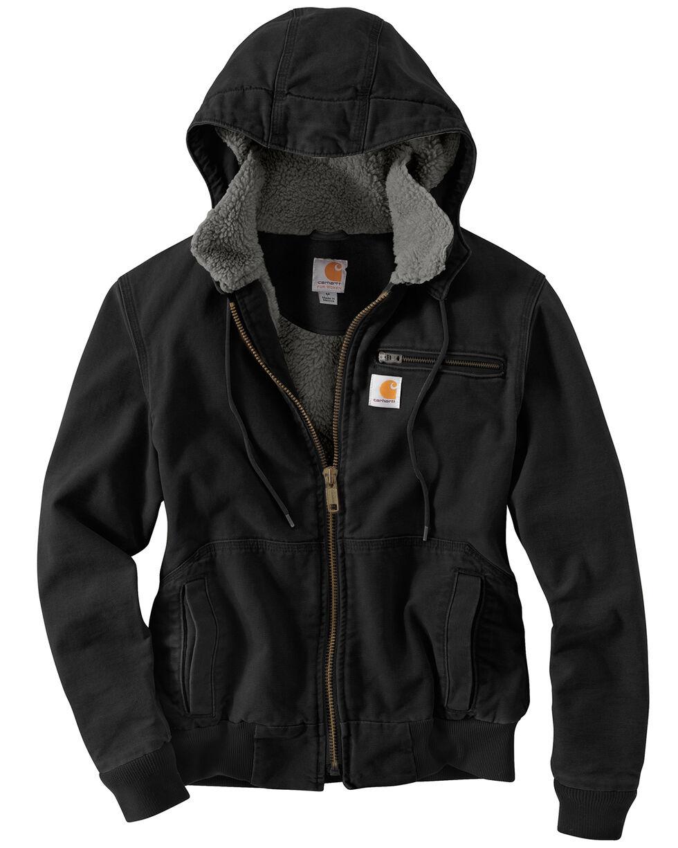 Carhartt Weathered Duck Wildwood Jacket, Black, hi-res
