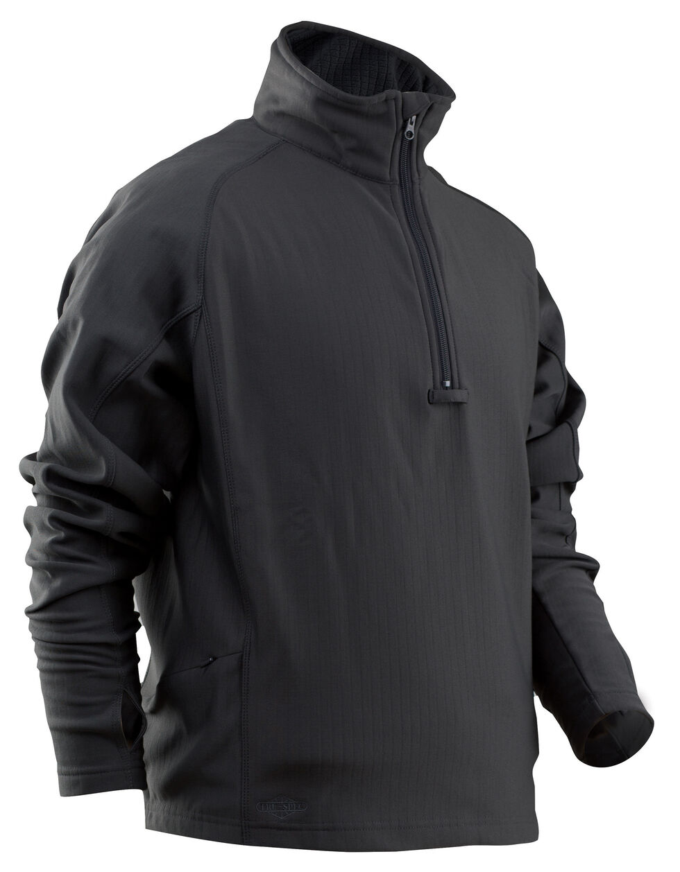 Tru-Spec 24-7 Grid Fleece Jacket, Black, hi-res