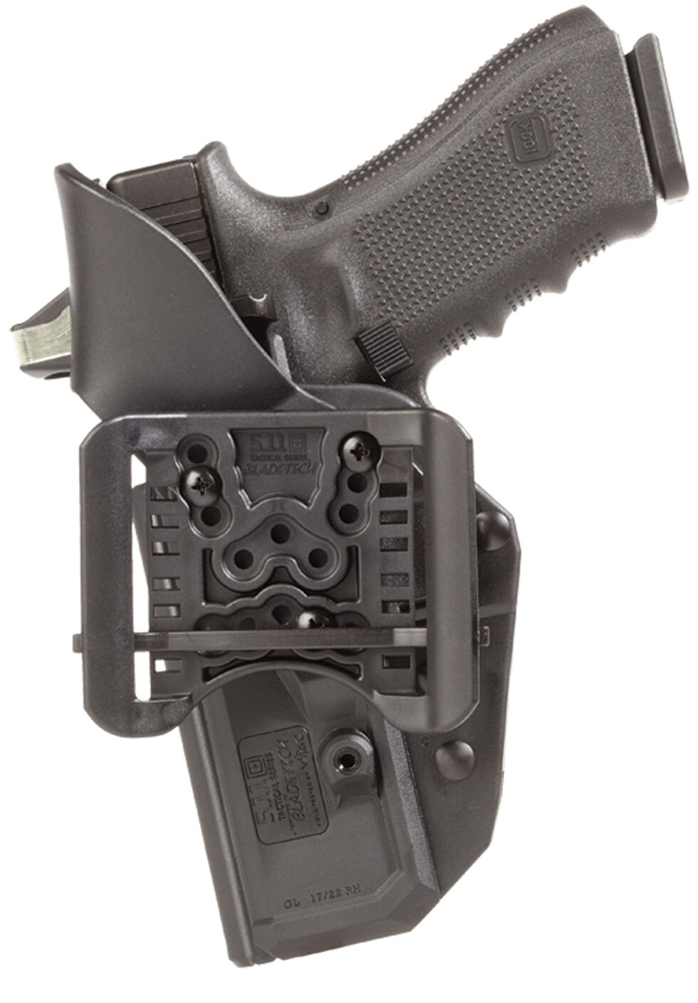 5.11 Thumbdrive Holster - Glock 34/35 (Right Hand), Black, hi-res