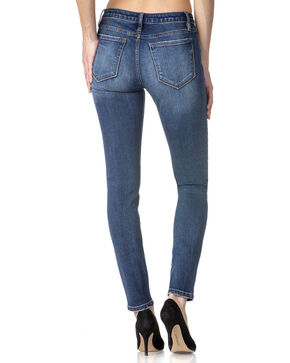 Miss Me Women's Indigo Bare It All Mid-Rise Jeans - Skinny , Indigo, hi-res