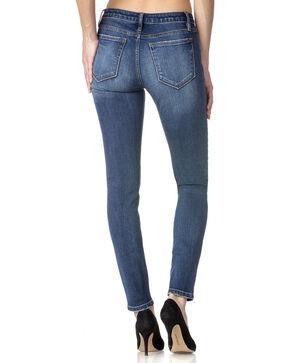 Miss Me Women's Indigo Bare It All Mid-Rise Jeans - Skinny , Indigo, hi-res