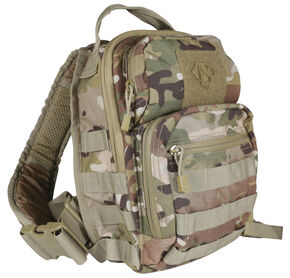 Tru-Spec Camo Trek Sling Pack, Multi, hi-res