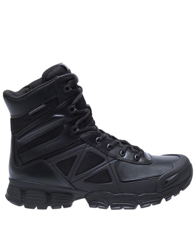 "Bates Men's 8"" Velocitor Waterproof Work Boots - Soft Toe, Black, hi-res"