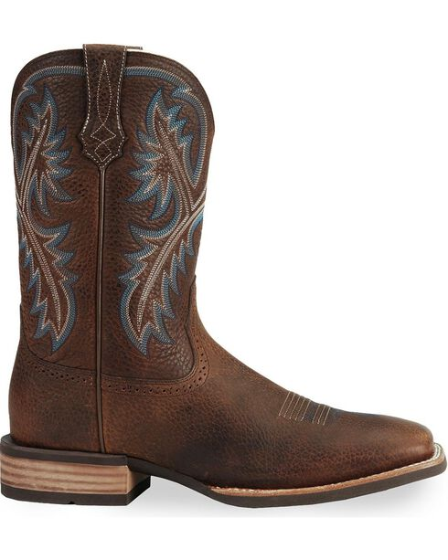 Ariat Quickdraw Cowboy Boots, Brown, hi-res