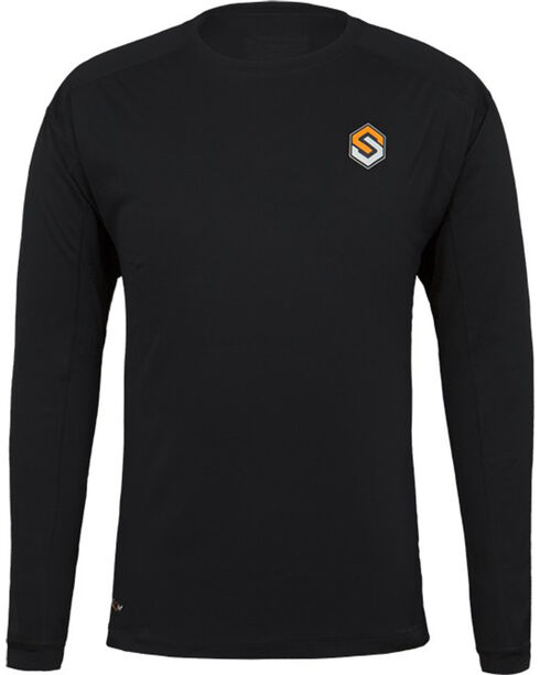 Scentlok Technologies Men's Black Nexus Carbon Active Carbon Top , Black, hi-res