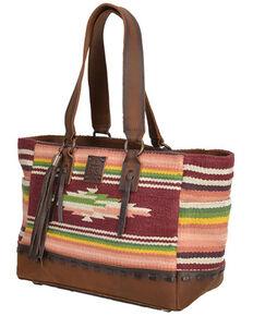 STS Ranchwear Women's Buffalo Girl Tote Bag, Multi, hi-res