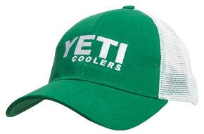 YETI Coolers Men's Traditional Trucker Hat, Green, hi-res