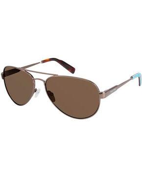 Realtree Women's Camo Aviator Sunglasses , Brown, hi-res