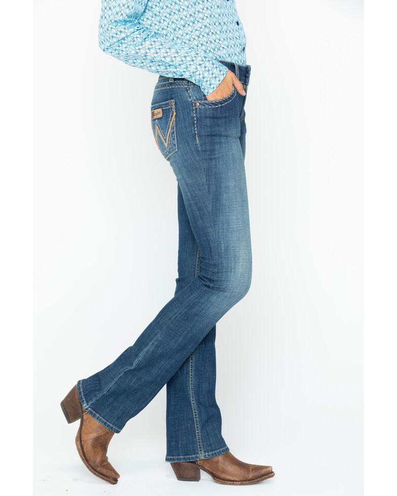 fc790c55 Wrangler Retro Women's Mae Wild Roost Mid-Rise Boot Cut Jeans | Sheplers