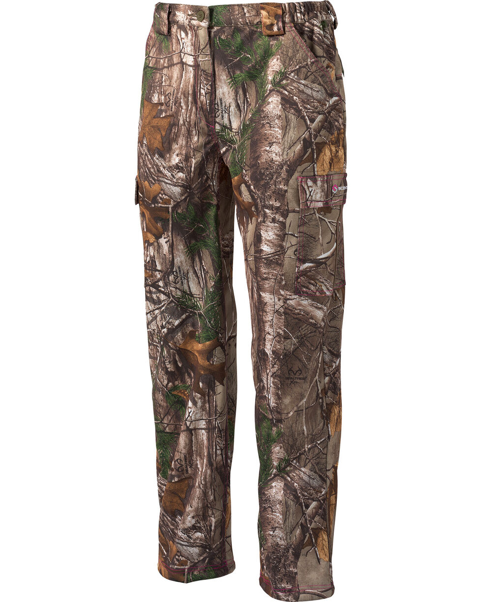 Scentlok Technologies Women's Realtree Wild Heart Savanna Pants - Straight Leg , Camouflage, hi-res