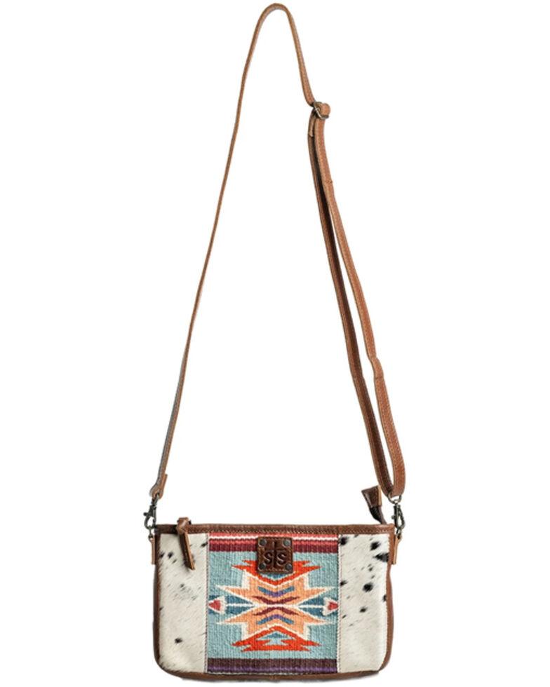 STS Ranchwear Women's Phoenix Claire Crossbody Bag, Brown, hi-res