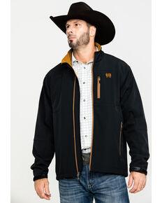 Cinch Men's Solid Bonded Concealed Carry Jacket , Black, hi-res