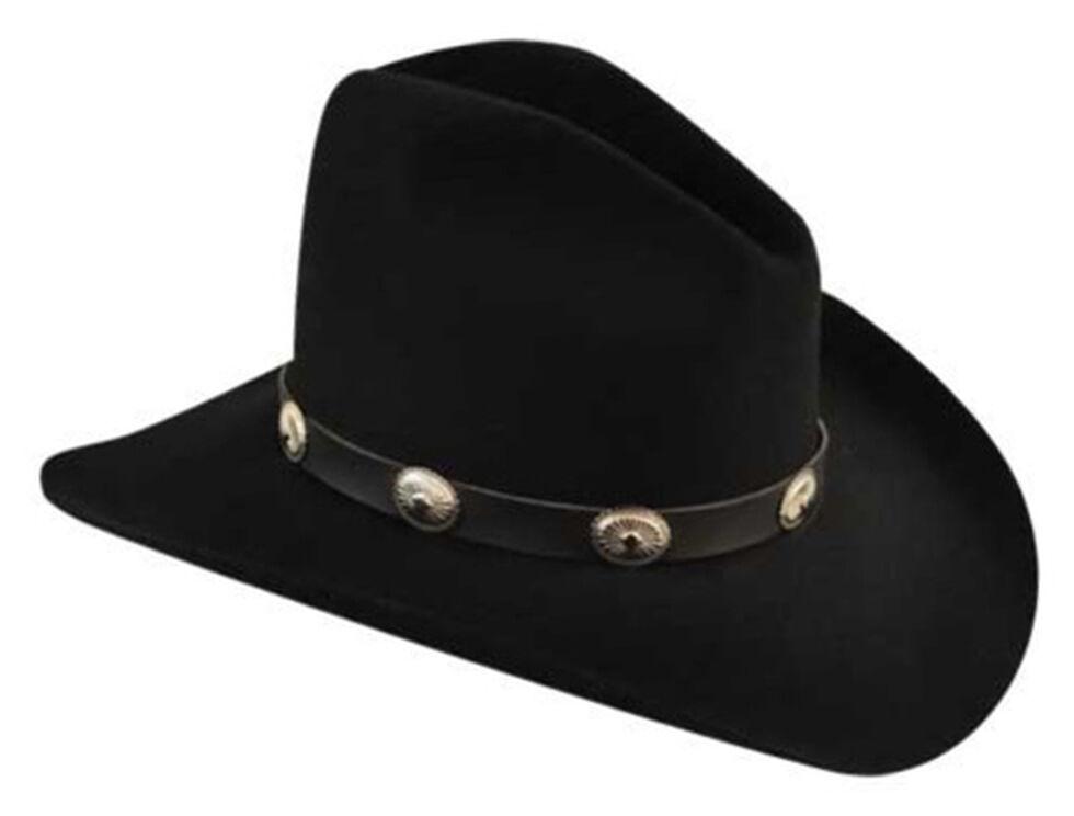 5ecdc0d5a15e9 Bailey Men s Tombstone Black Western Hat