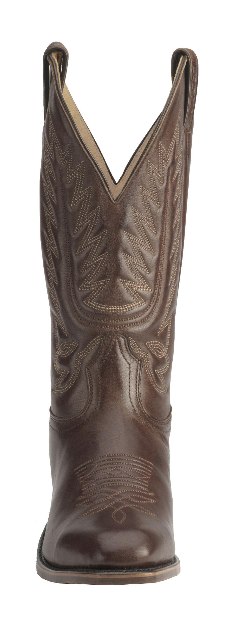Boulet Men's Dress Cowboy Boots - Square Toe, Tan, hi-res