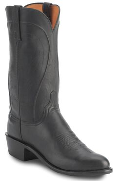 Lucchese Handcrafted 1883 Ranch Hand Boots, Black, hi-res