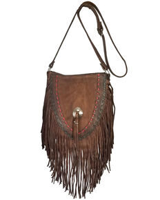 Kobler Leather Women's Brown Supai Crossbody Bag, Dark Brown, hi-res