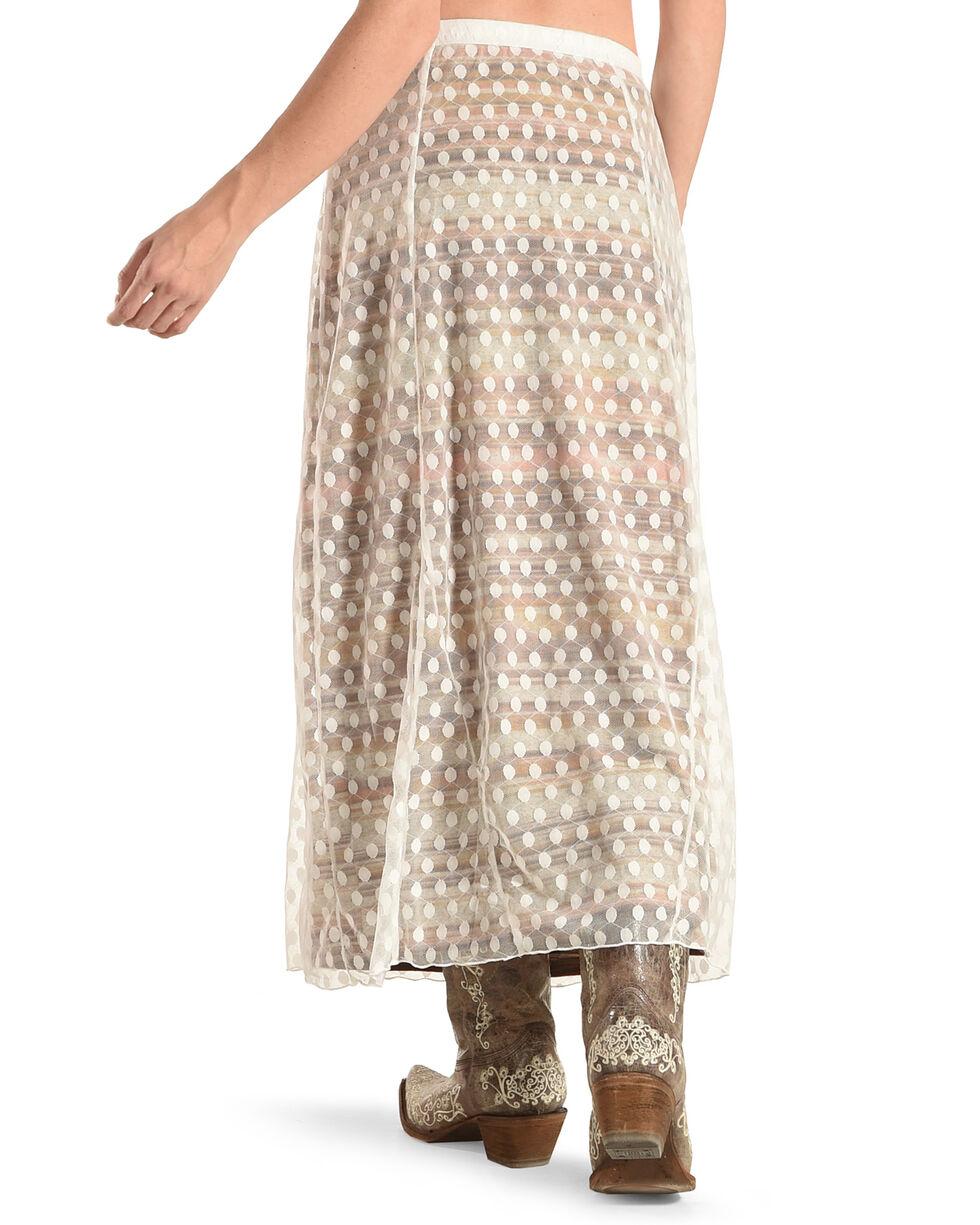 Angel Premium Women's Cream RoseAnne Skirt , Cream, hi-res
