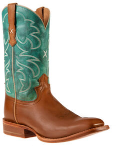 Twisted X Women's Rancher Western Boots - Square Toe, Brown, hi-res