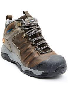 Hawx Men's Axis Waterproof Hiker Boots - Soft Toe, Brown, hi-res