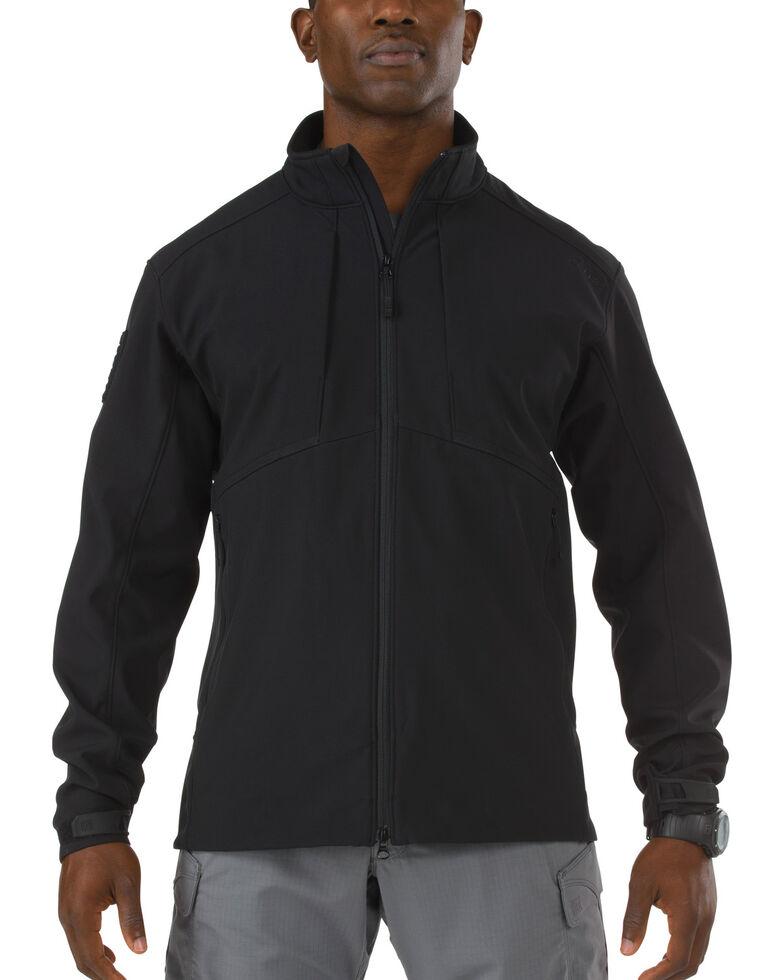 5.11 Tactical Sierra Softshell Jacket, Black, hi-res