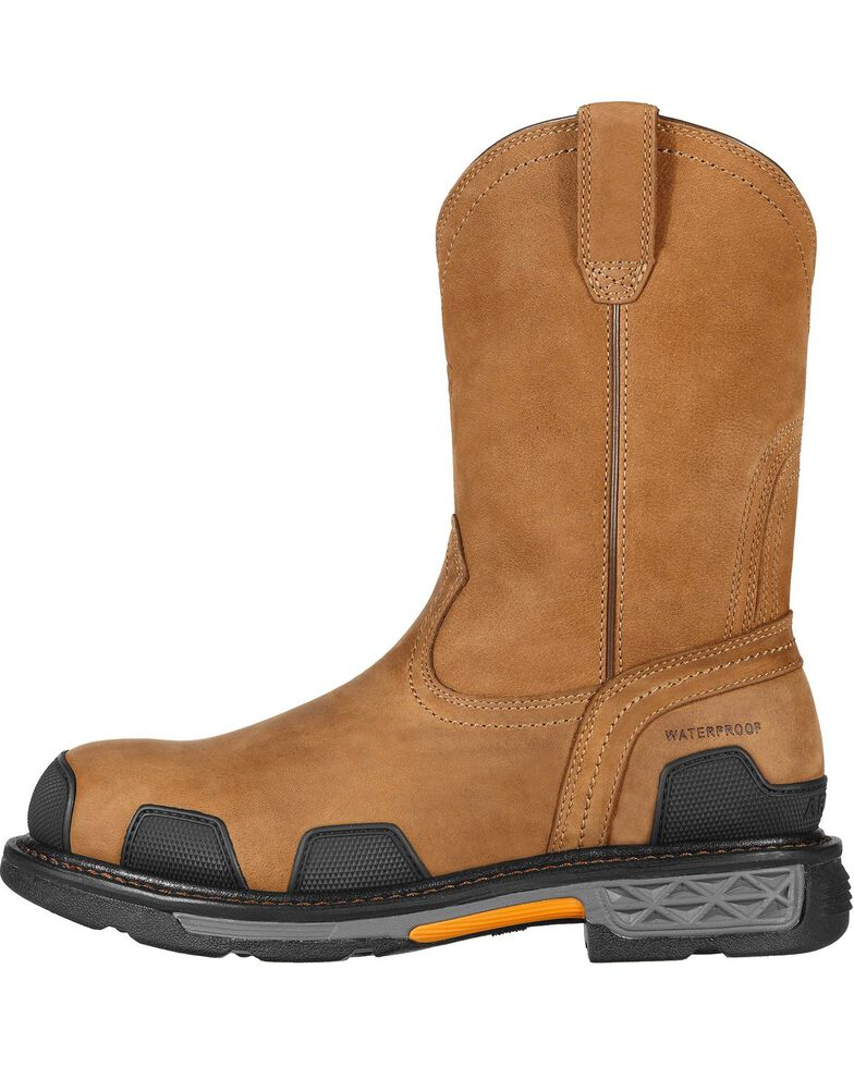 Ariat Overdrive Waterproof Pull-On Work Boots - Composite Toe, , hi-res
