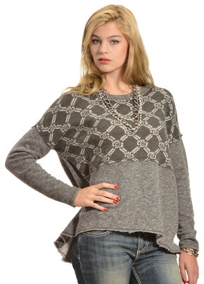 White Crow Women's Dark Shadows Top, Charcoal Grey, hi-res