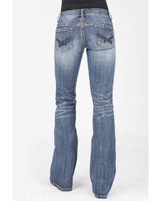 Stetson Women's 816 Classic Boot Cut Jeans, Blue, hi-res
