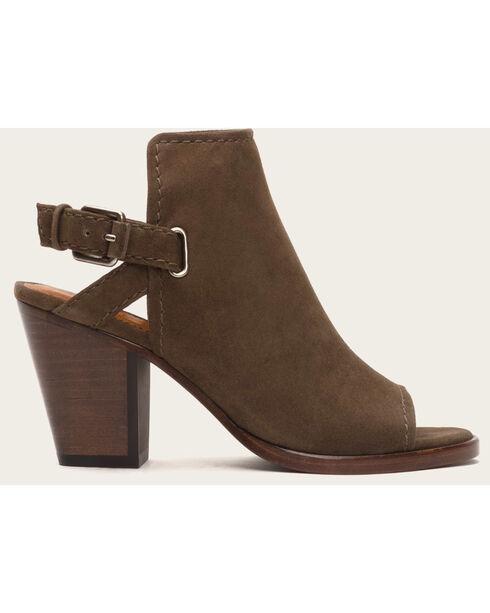 Frye Women's Dani Shield Sling Shoes - Round Toe , Taupe, hi-res