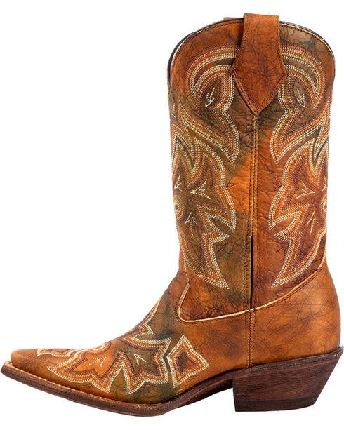 Rocky Women's Handhewn Western Boots, Multi, hi-res