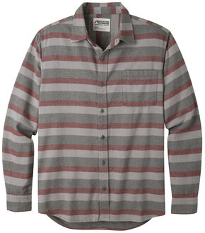 Mountain Khakis Men's Malbec Flannel Shirt , Burgundy, hi-res