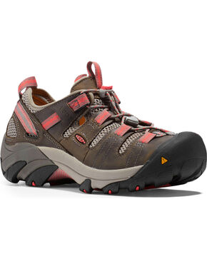 Keen Women's Atlanta Cool ESD Soft Toe Work Shoes, Grey, hi-res