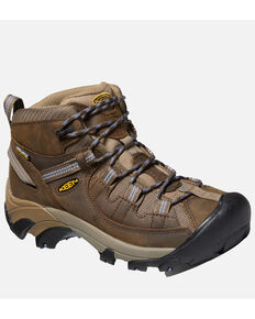 Keen Women's Targhee II Waterproof Hiking Boots - Soft Toe, Brown, hi-res