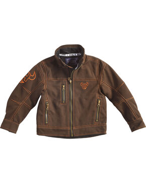 Cowboy Hardware Toddler Boys' Woodsman Jacket, Brown, hi-res