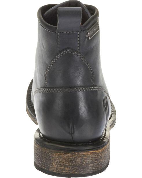 Harley Davidson Men's Black Darrol Leather Lifestyle Shoes , Black, hi-res