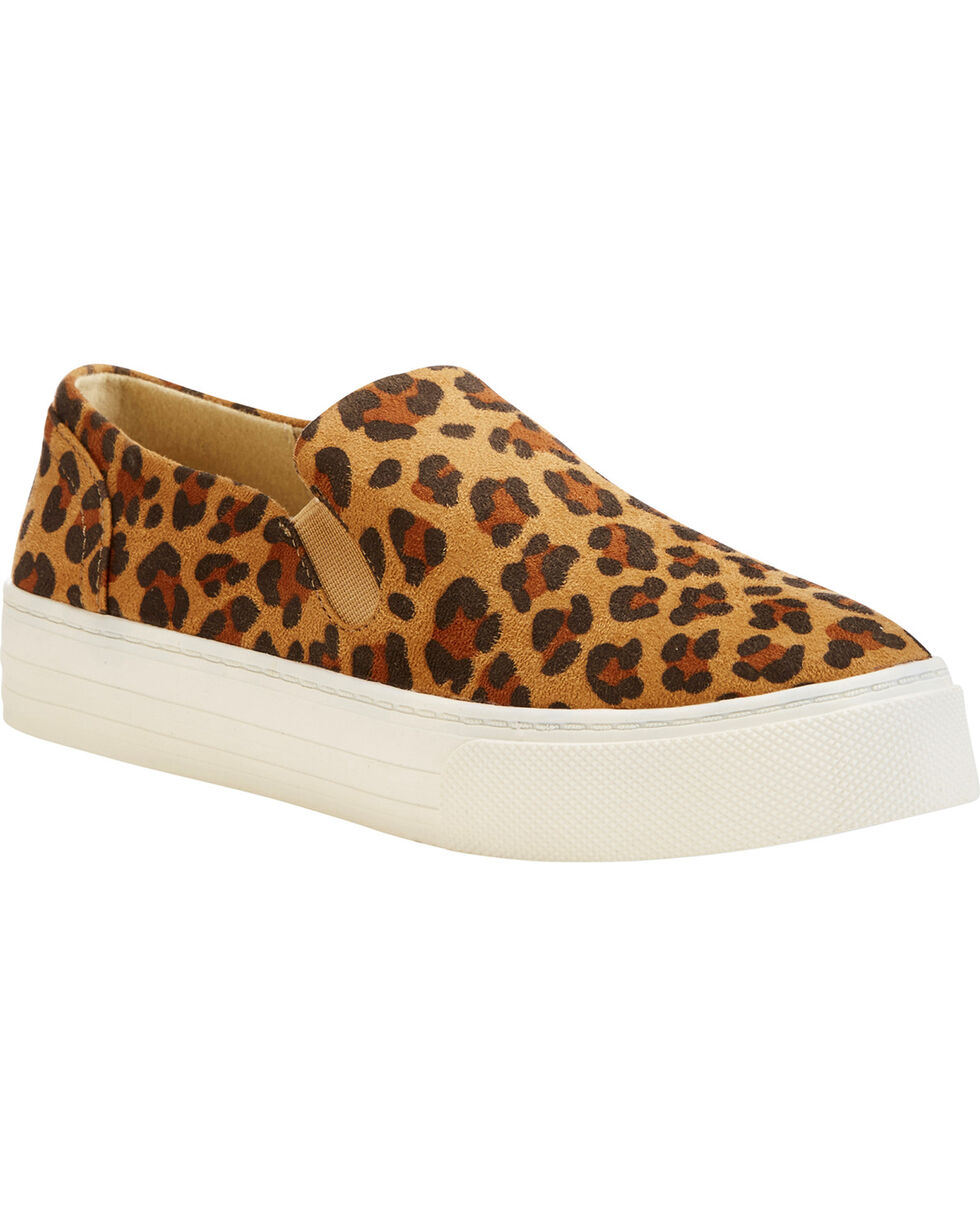 Ariat Women's Leopard Print Suede Shoes , Leopard, hi-res