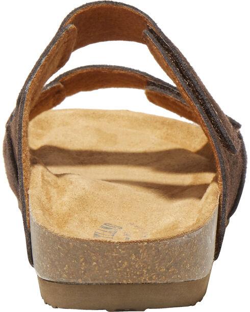 Eastland Men's Brown Caleb Slide Sandal , Brown, hi-res