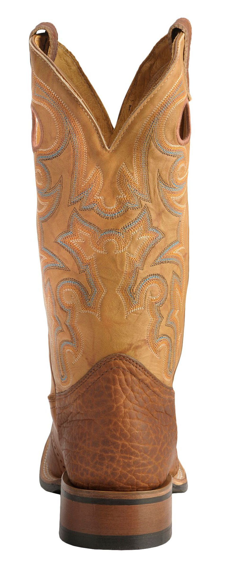Boulet Saddle Rider Sole Boots - Square Toe, Sand, hi-res