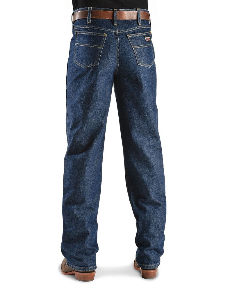 Cinch  Men's Green Label Flame Resistant Work Jeans, Denim, hi-res