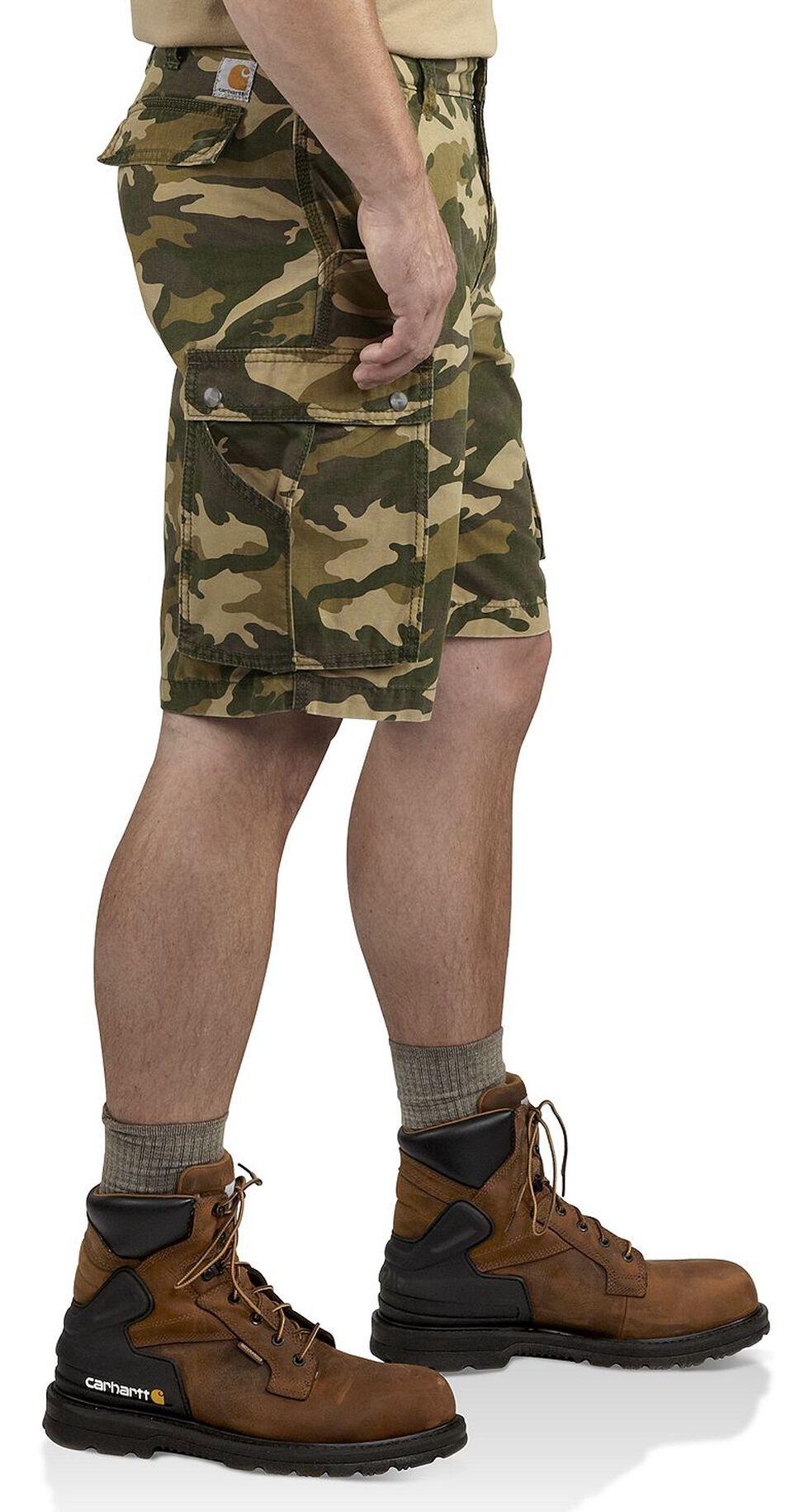 Carhartt Rugged Cargo Camo Shorts, Khaki Camo, hi-res
