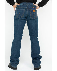 Wrangler Men's FR Advanced Comfort Slim Bootcut Work Jeans , Blue, hi-res
