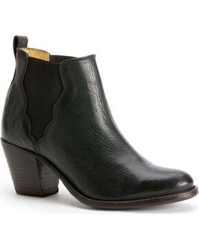 Frye Women's Jackie Gore Stitching Horse Boots - Round Toe, Black, hi-res