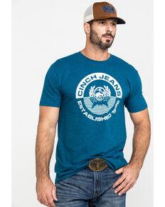 Cinch Men's Navy Circle Logo Graphic T-Shirt , Navy, hi-res
