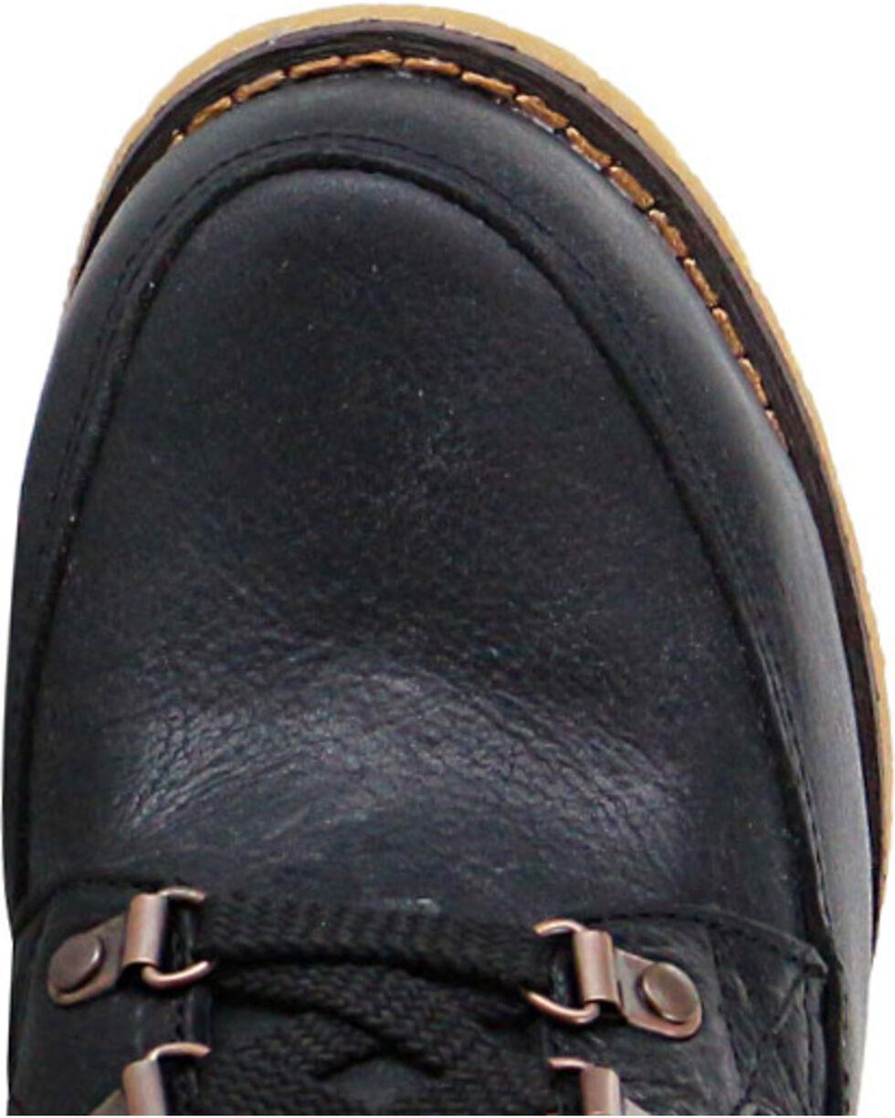 Durango Women's Cabin Lacer Boots - Round Toe , Black, hi-res