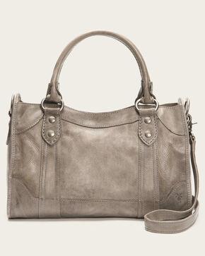 Frye Women's Leather Melissa Satchel , Grey, hi-res